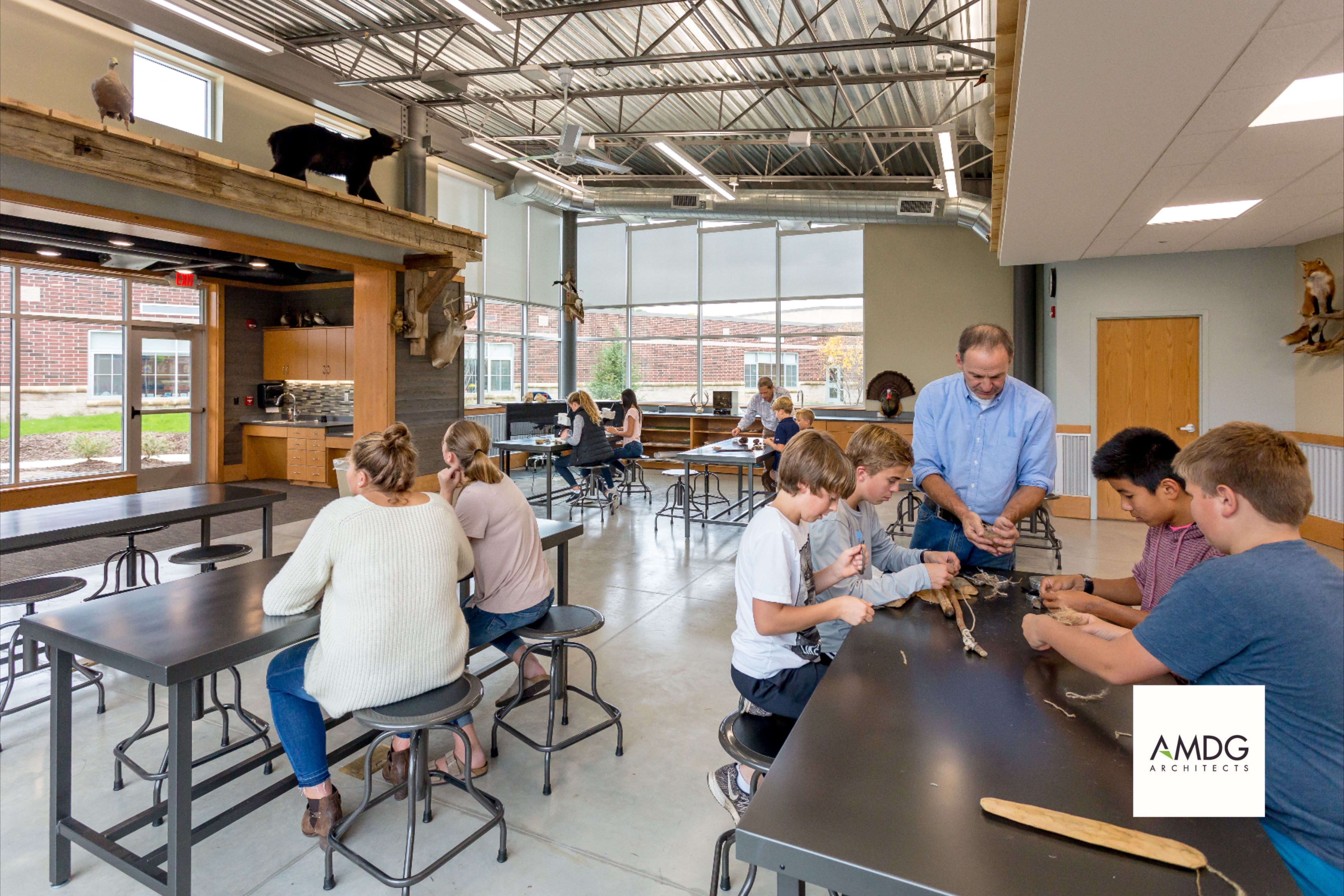 Pin By Amdg Architects On Education Architect Home Grand Rapids