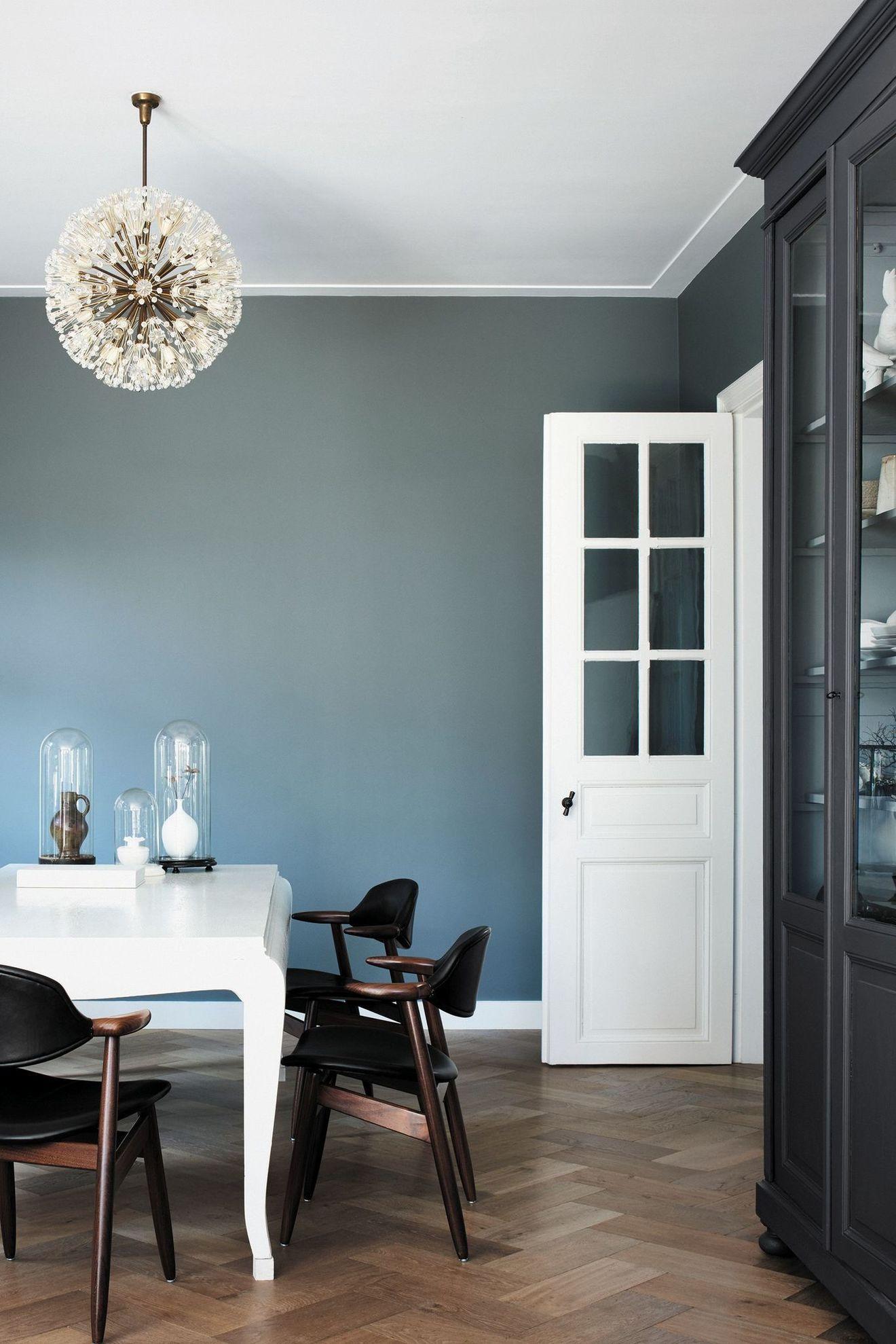 Peinture salon 30 couleurs tendance pour repeindre le salon salon couleur mur salon - Tendance peinture salon ...