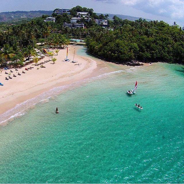 Playa Las Ballenas Las Terrenas Samaná R D экскурсии отпуск пляж