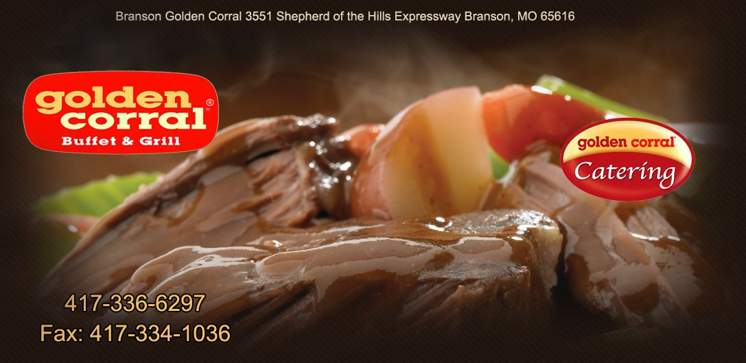 bransons golden corral buffet is the largest in the world with a seating capacity of over 650 our restaurant serves breakfast lunch and dinner daily