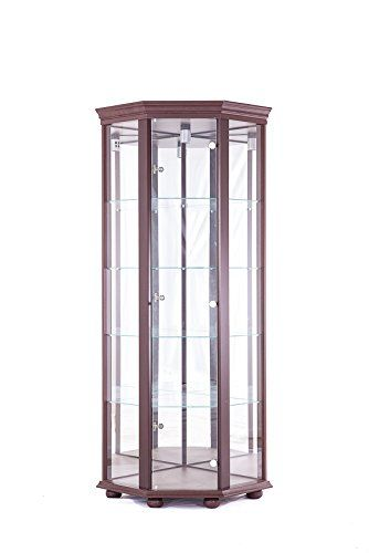 passat corner glass ddiplay cabinet living room glass cabinets