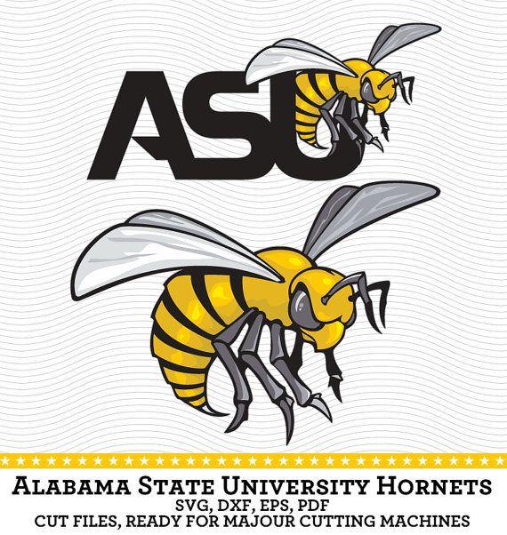 Alabama State University Hornets Logo Svg Dxf By Svgsilhouettedxf