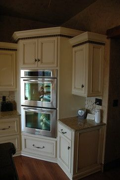 Beautiful Double Wall Oven Cabinet
