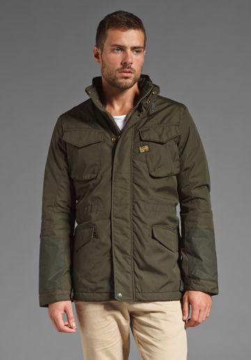 G STAR Welder Field Jacket in Arsenic at Revolve Clothing