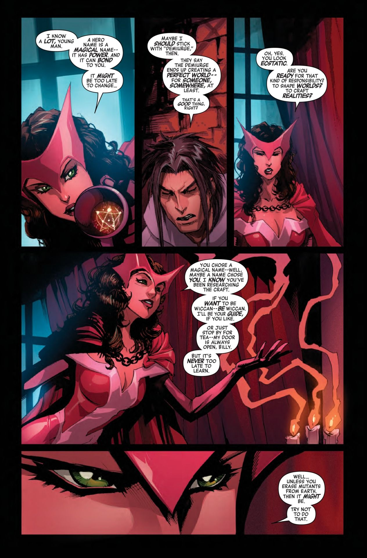 Preview New Avengers 11 Comic Vine In 2020 Scarlet Witch Comic Scarlet Witch Cosplay Scarlet Witch