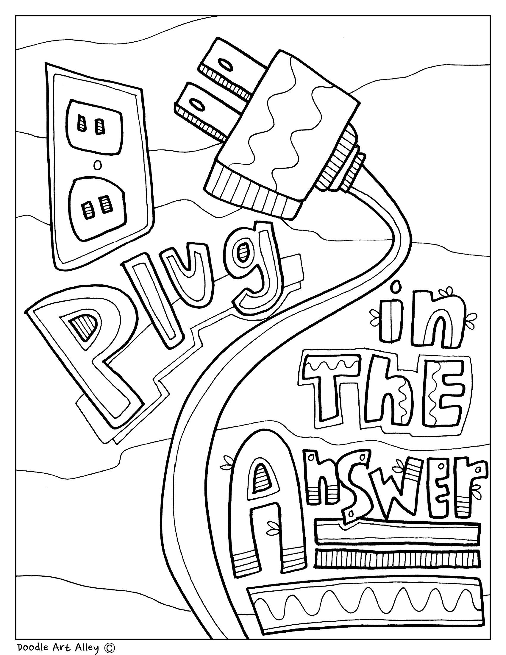 Testing Strategies Testing Strategy Coloring Pages At Classroom Doodles From Doodle Art Alley School Coloring Pages Teaching Schools Testing Strategies