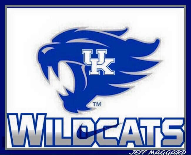 Wildcats New Logo Kentucky Wildcats Logo Uk Wildcats Basketball Kentucky Wildcats Mascot