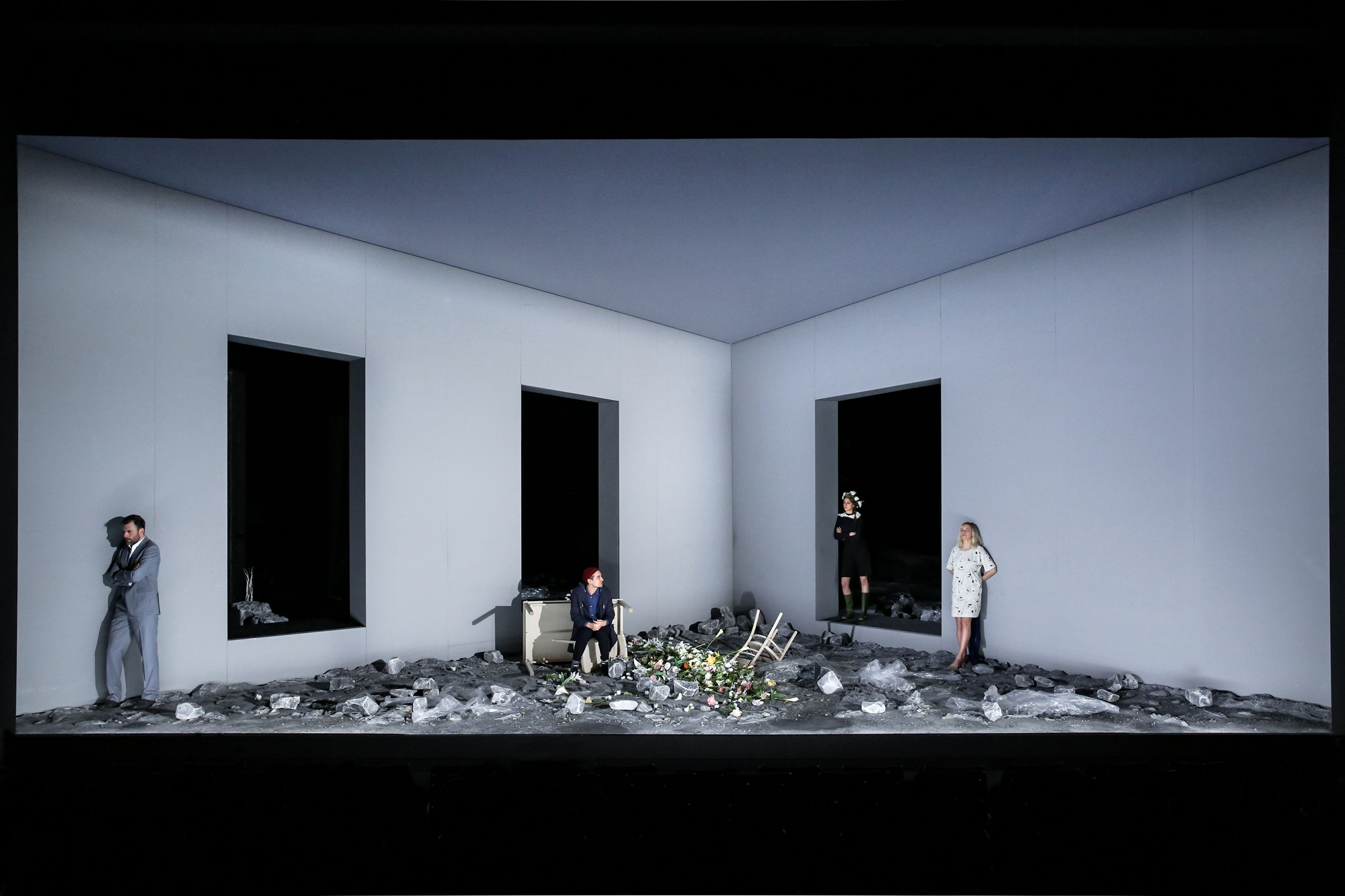 Design Bonn stagedesign for ibsens frau vom meer a play for theater bonn
