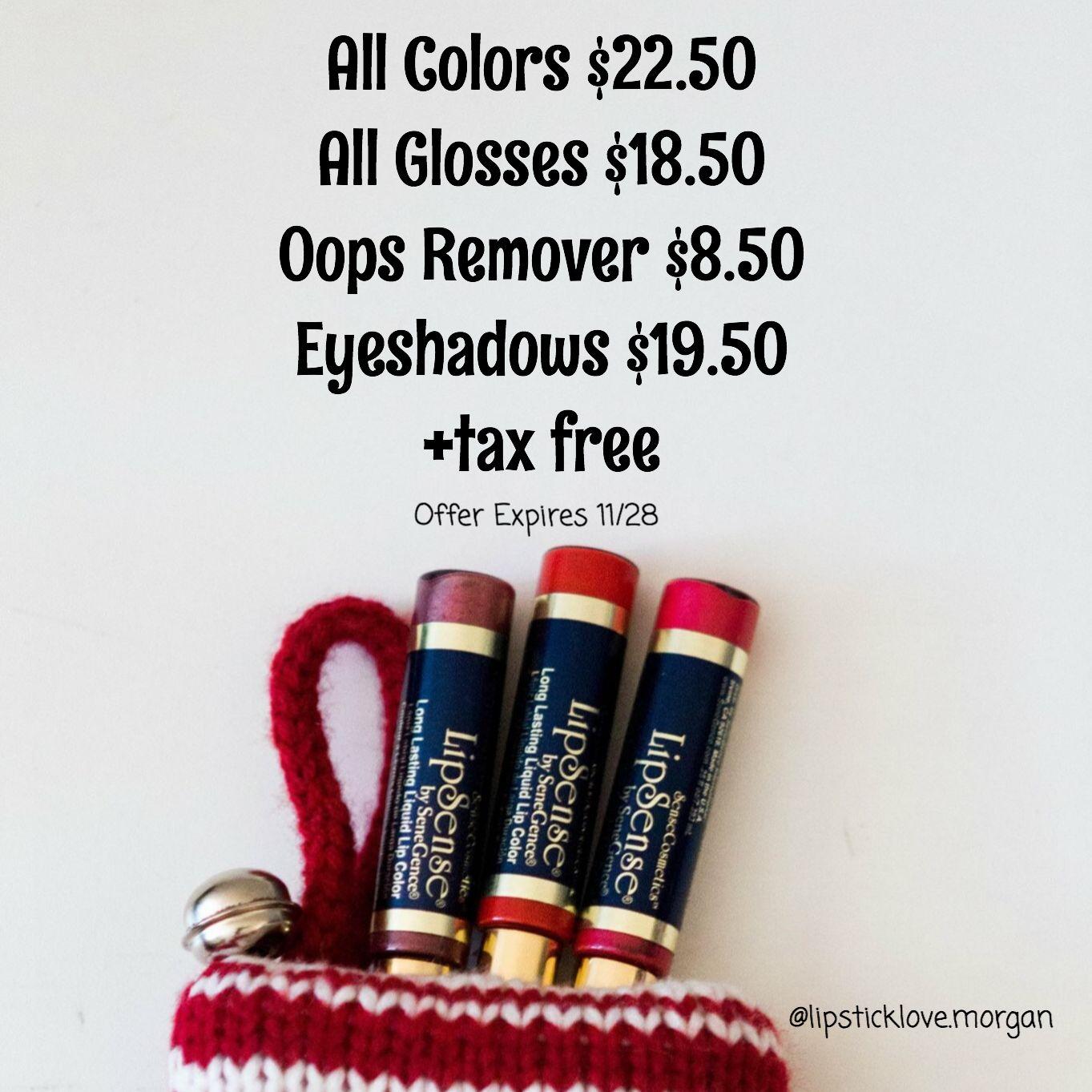 LipSense Lipstick Deals Christmas Black Friday Cyber