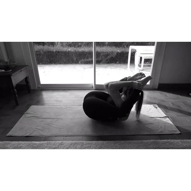 Just relaxing... #yoganidrasana #yoga #yogini  Claudia Clement