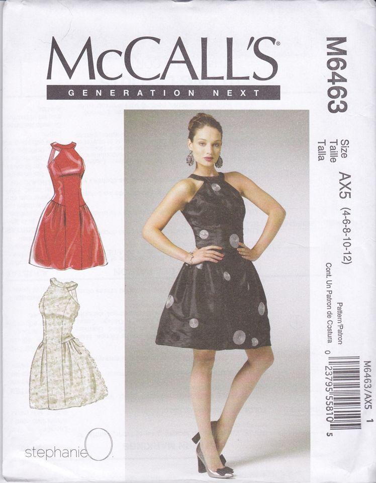 Cocktail Dress Sewing Pattern - Ocodea.com
