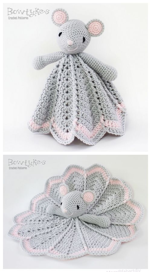 Crochet Wee Mouse Lovey Crochet Pattern | am i g urumi | Pinterest ...