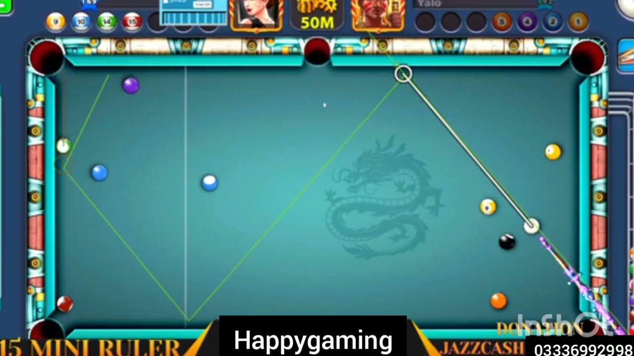 8ball Pool Long Aim Hacked 8ball Pool Antiban Mini Roller Game Play In 2021 8ball Pool Games To Play Pool Balls