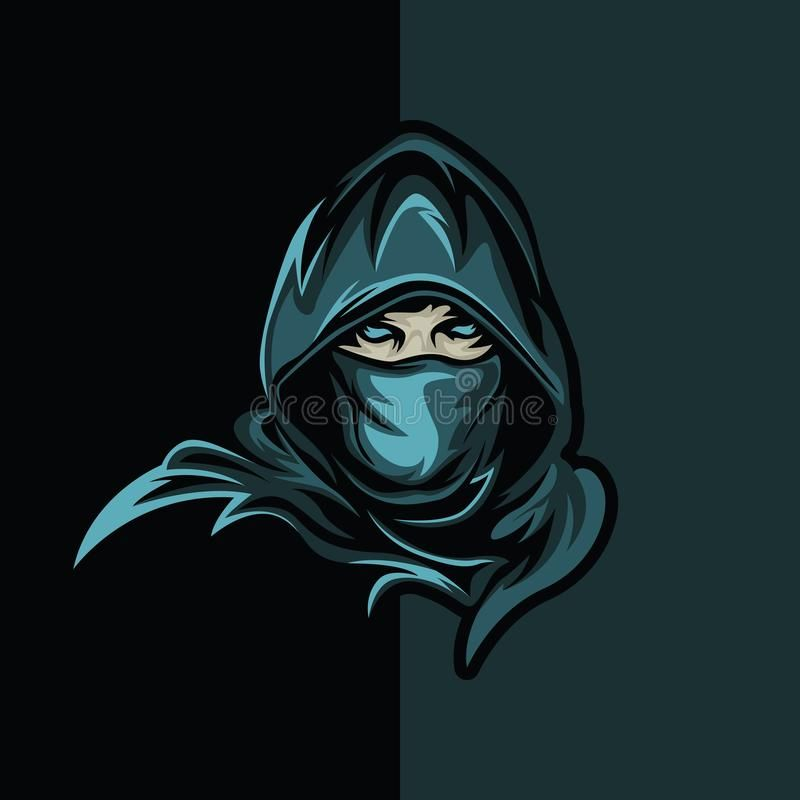 Illustration About Elite Thief Logo E Sport Gaming Apparel Logo Mechandise Logo Jersey Logo G Team Logo Design Logo Illustration Design Photo Logo Design