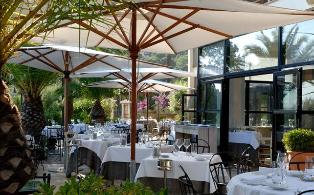 Restaurant gastronomique La Praya terrasse bord de mer golfe de