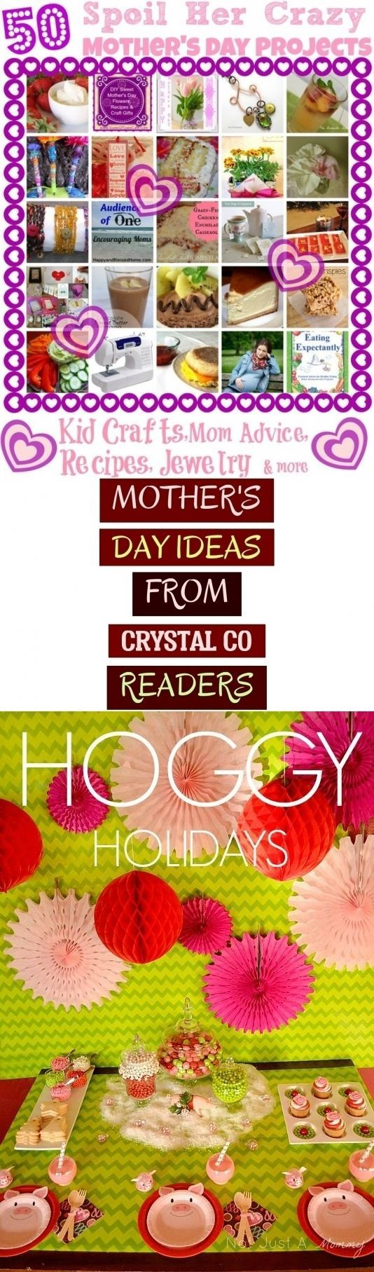 Mother's Day Ideas From Crystal Co Readers - muttertagsideen von crystal co readern #crazyhatdayideas Mother's Day Ideas From Crystal Co Readers - muttertagsideen von crystal co readern #crazyhatdayideas