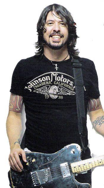 Foo Fighters: Total Guitar, January '08