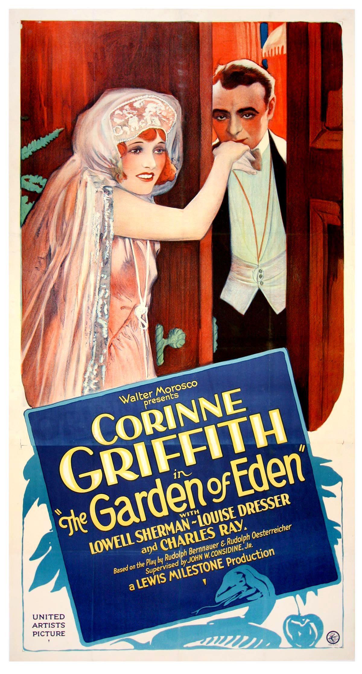 The Garden of Eden (1928) Corinne Griffith silent film