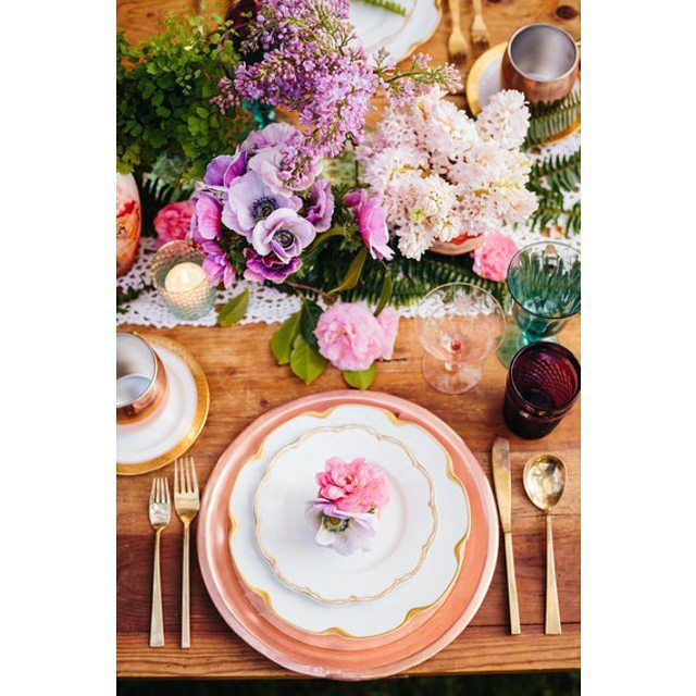So excited to see our tabletop designs on @huffingtonpost today! Gorgeous photos by my great gal pal @jodeedebesphoto. Additional tabletop items from my sweet friends at @lovedetailed. Gorgeous florals by @marksgarden and paper goods by the fabulous @blissandbone and @thepersephonepapers. #dishwish #theglamcollection #dwflatware #dwtrays #nicestemsdw