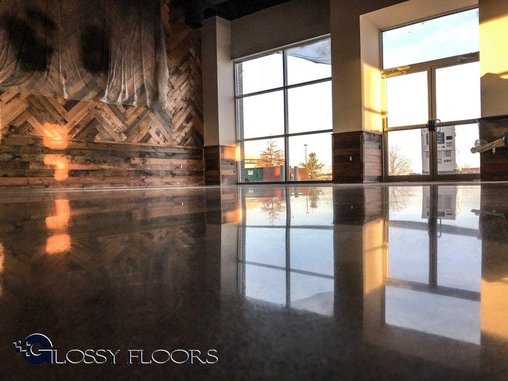 Polished Concrete Restaurant Floor The Floor Looks Like