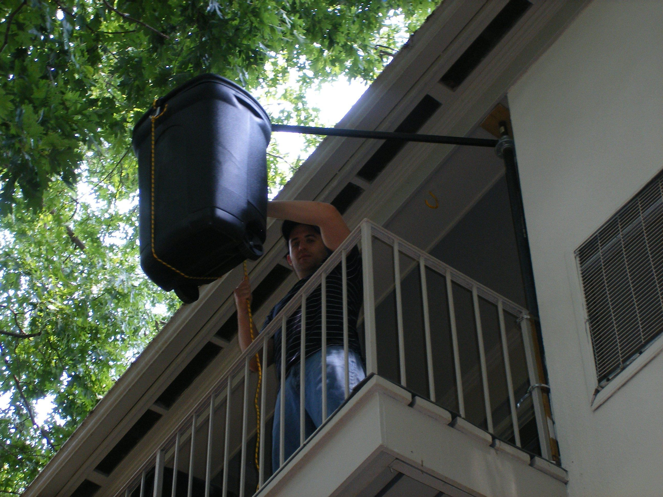 Inspirational Swiveling Balcony Hoist