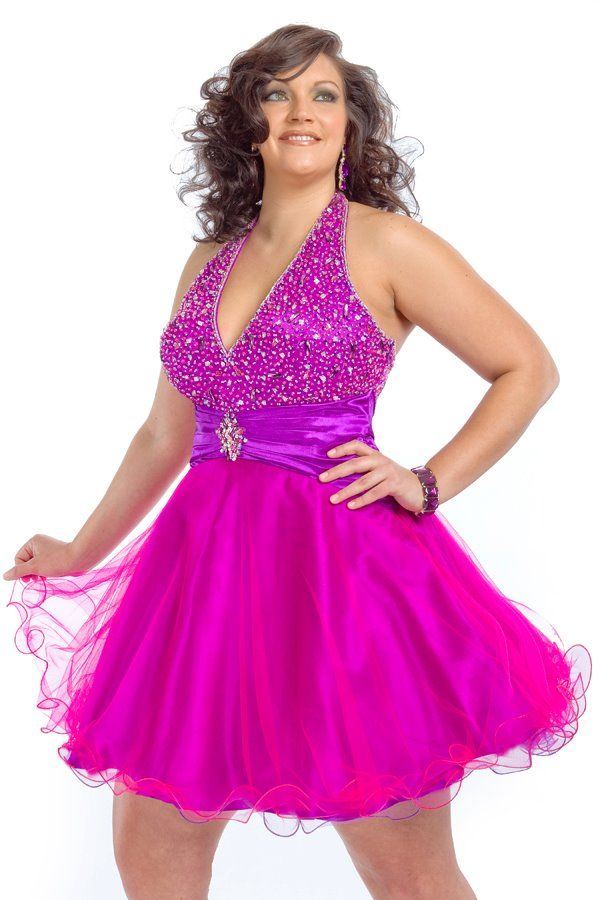 45 Glamorous Plus Size Prom Dresses to Flaunt Your Curvy Body ...