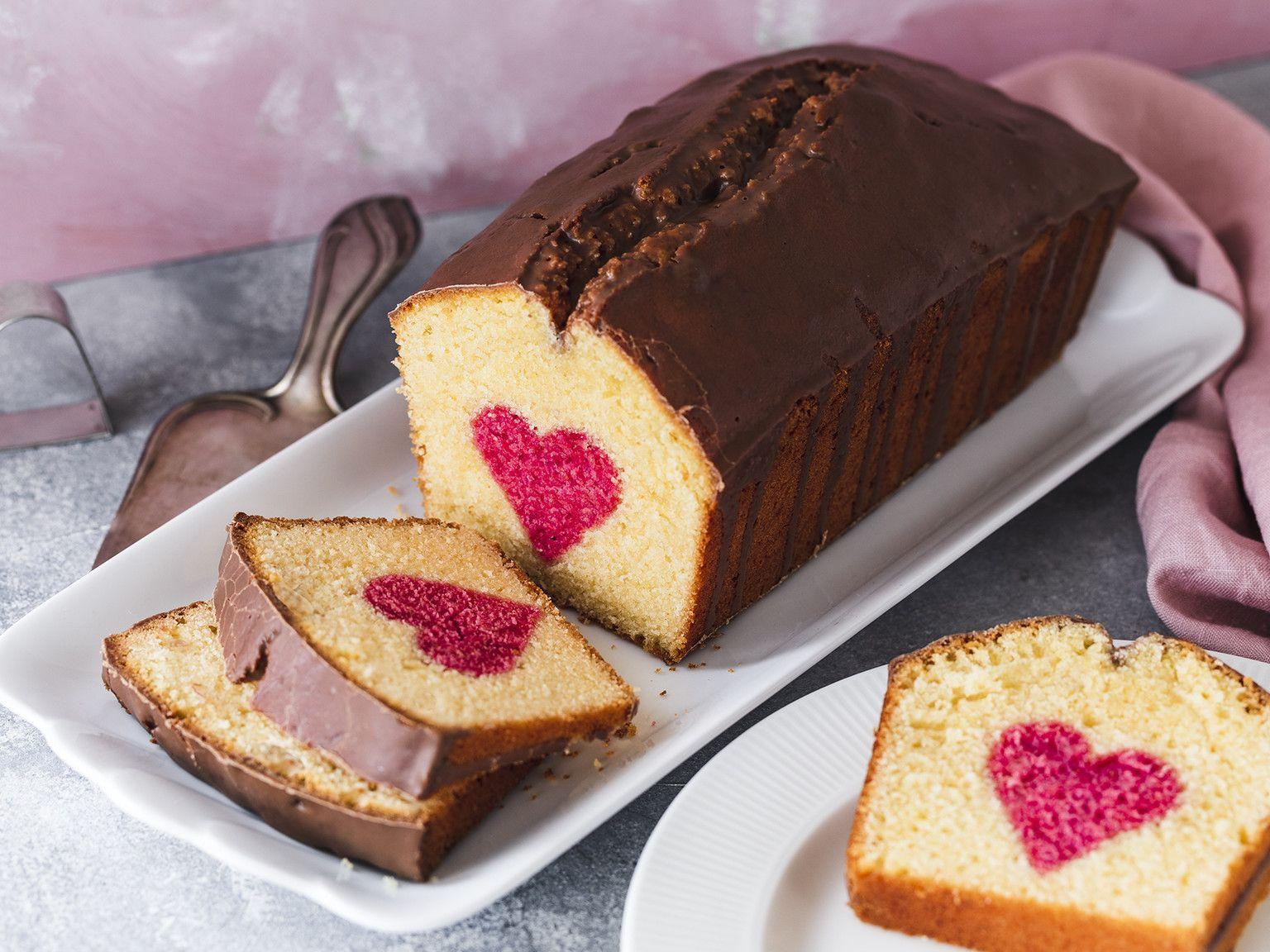 Herzkuchen - selber backen zum Verschenken | Die besten