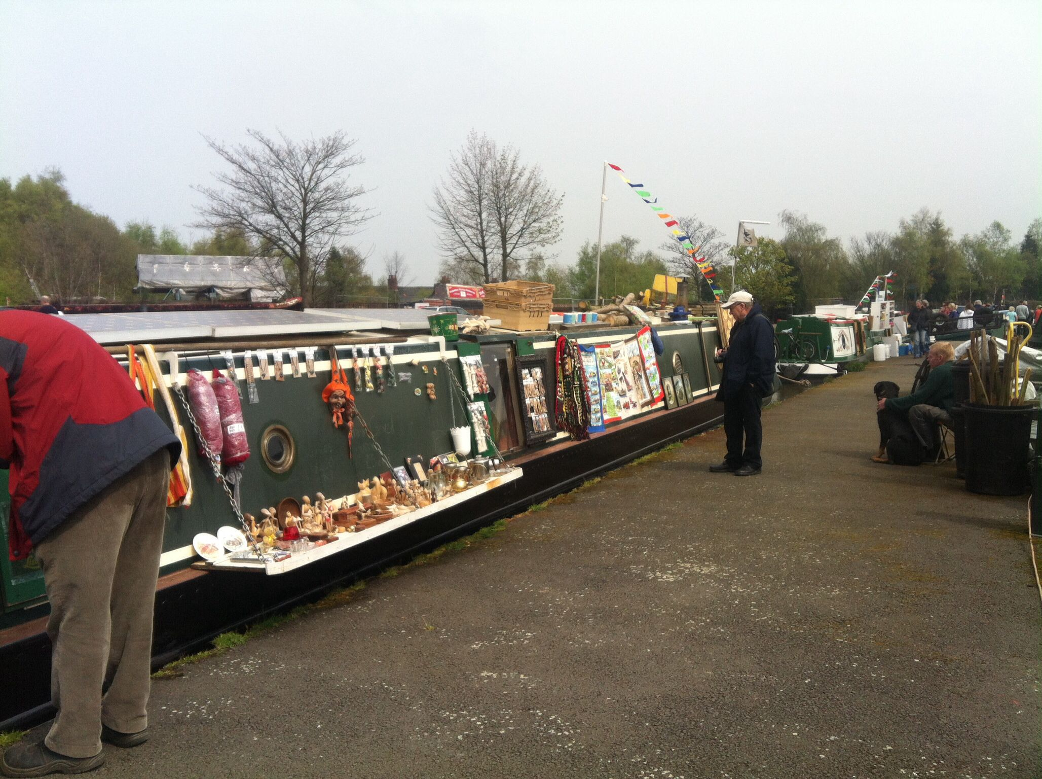 Alvecote Marina at Easter - Brrrrr it was chilly!!!