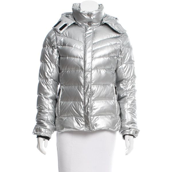 63ad722d9b1 Pre-owned Bogner Hooded Down Jacket ($345) ❤ liked on Polyvore featuring  outerwear, jackets, silver, hooded jacket, bogner jackets, hooded down  jacket, ...