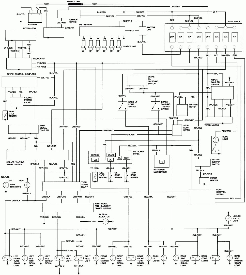 Toyota Coaster Wiring Diagram Schematic (With images