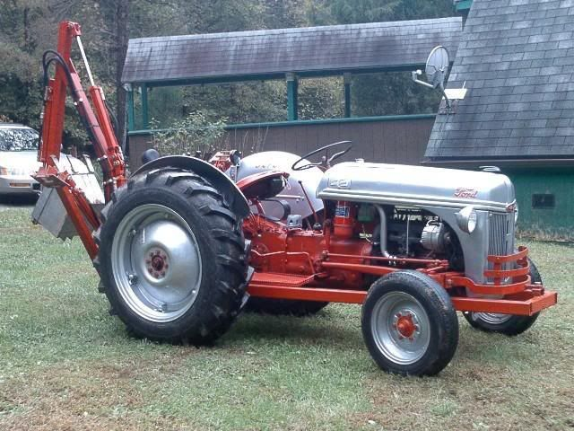 8n Ford Attachments : Ford n tractor backhoe google search tractors