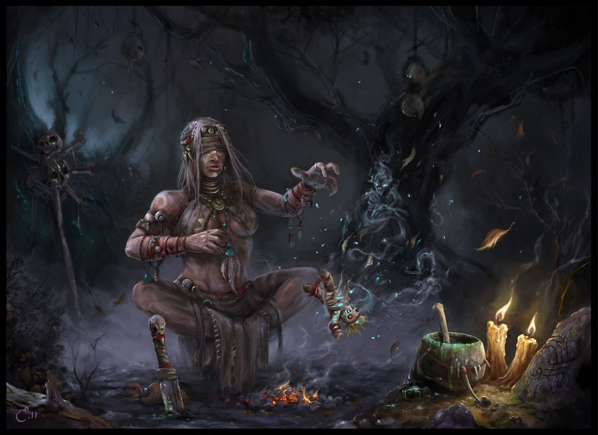 Witch Picture (2d, fantasy, witch, spell, purple) | Images ...