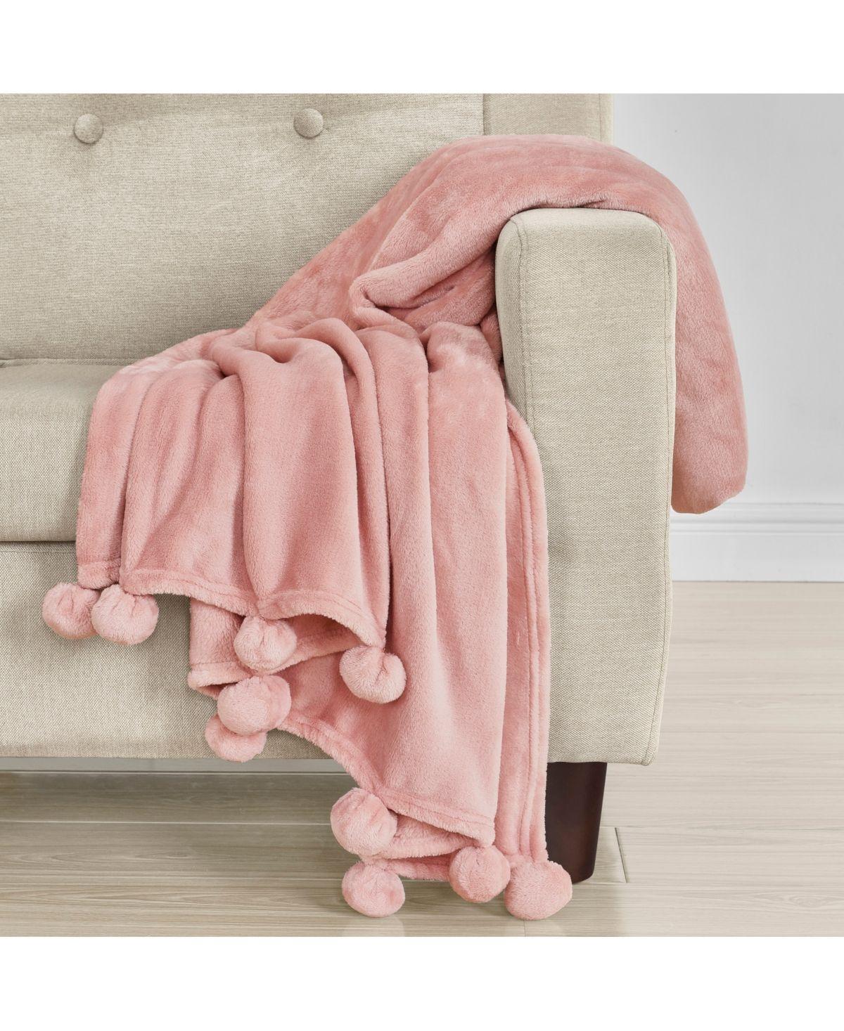 J By J Queen Paulina Throw Pink In 2020 Bed Throws Pink Throw Blanket Pink Blanket