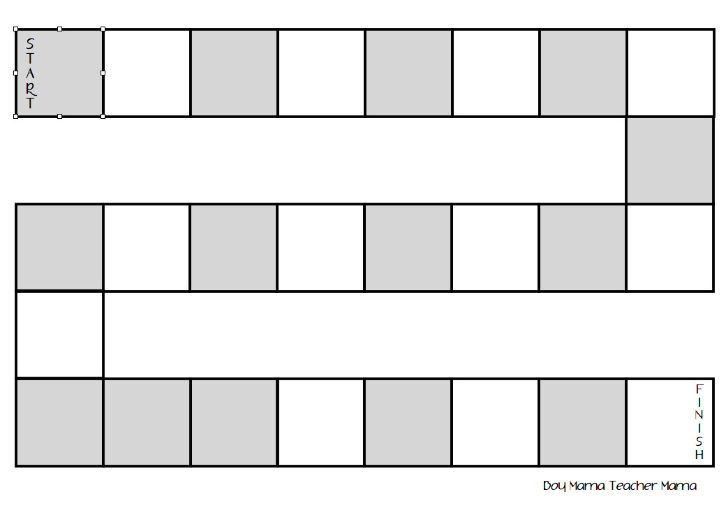 Blank Board Endless Write A Sight Word On Each E Numbers Letters