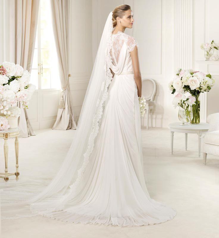 Elegant Short Sleeves Sheath with Sash-Dressfame.com