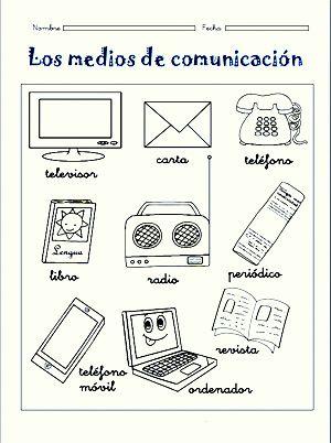 Medios De Comunicación Para Niños Educación Dual Language
