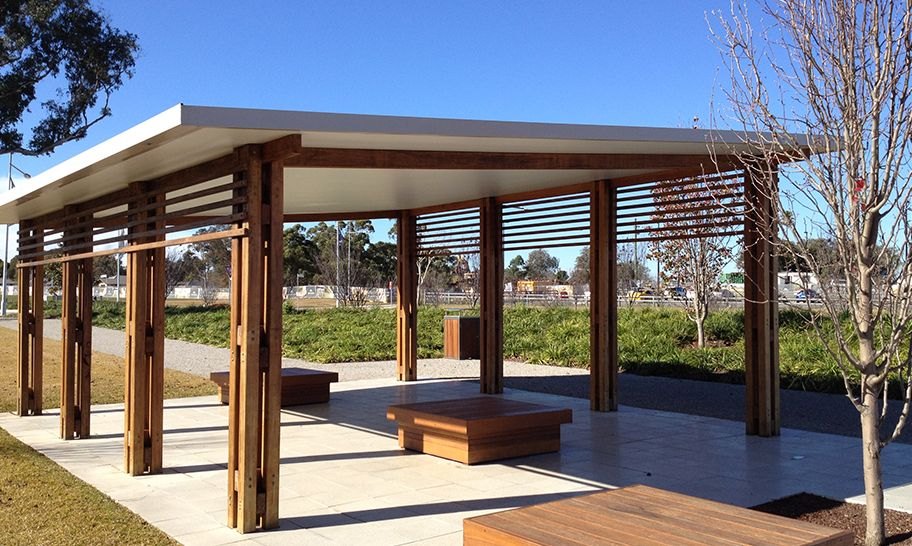 Pergola roofing sydney in and out pinterest roof for Skillion roof definition