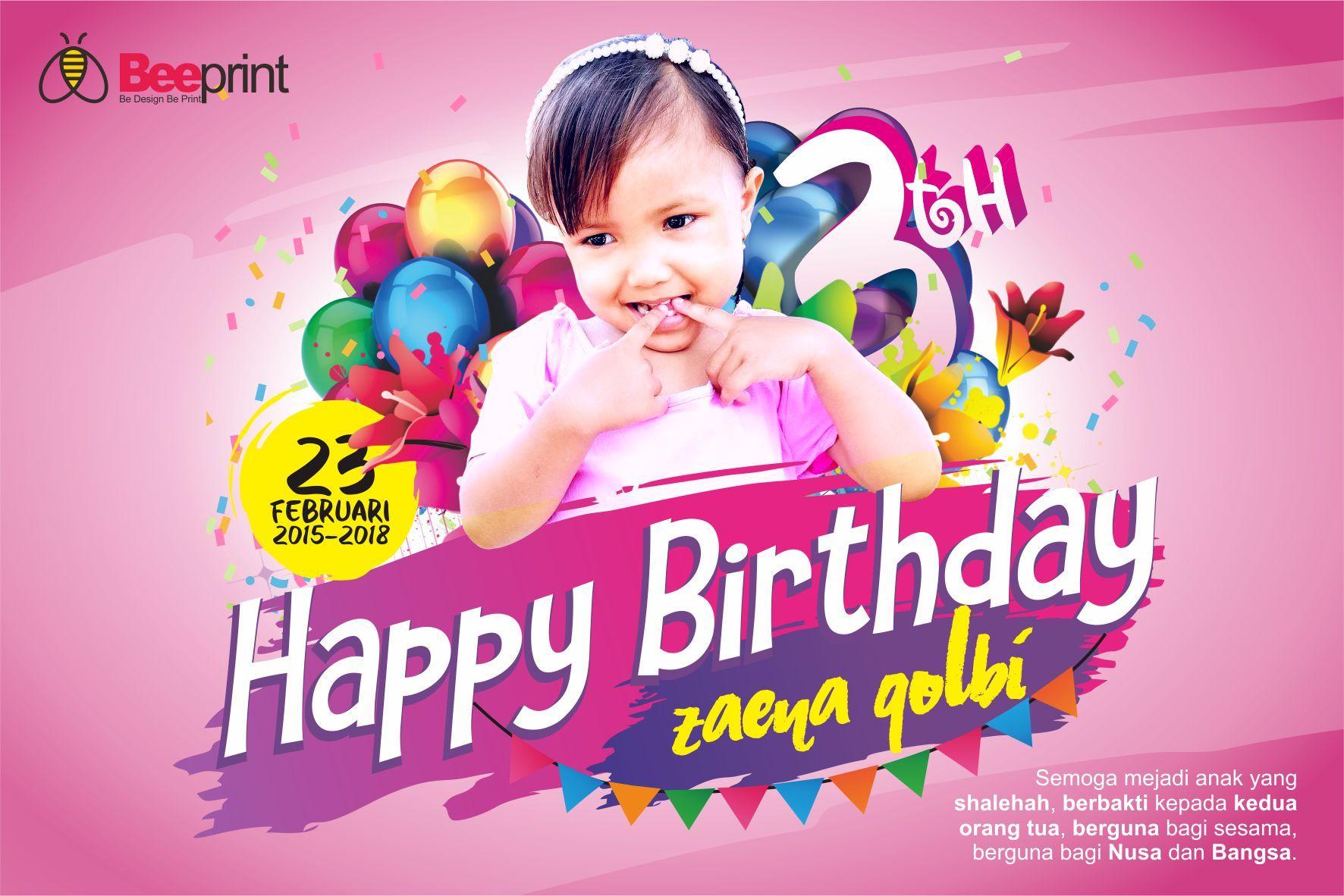 Download Gratis Contoh Banner Ulang Tahun Anak Full HD ...