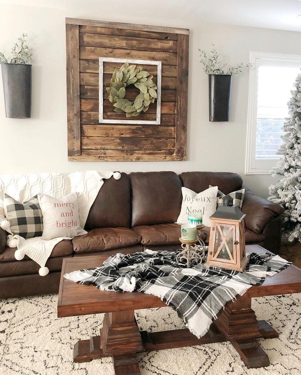 41 Inspiring Rustic Home Decor Living Room Ideas