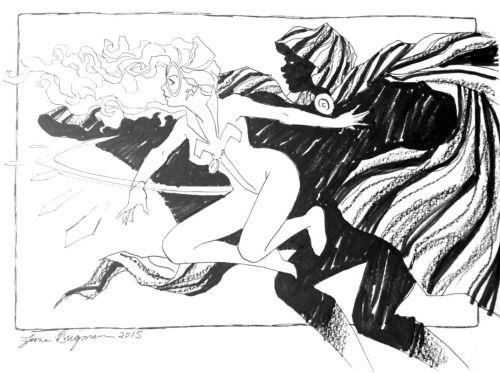 Cloak & Dagger by June Brigman