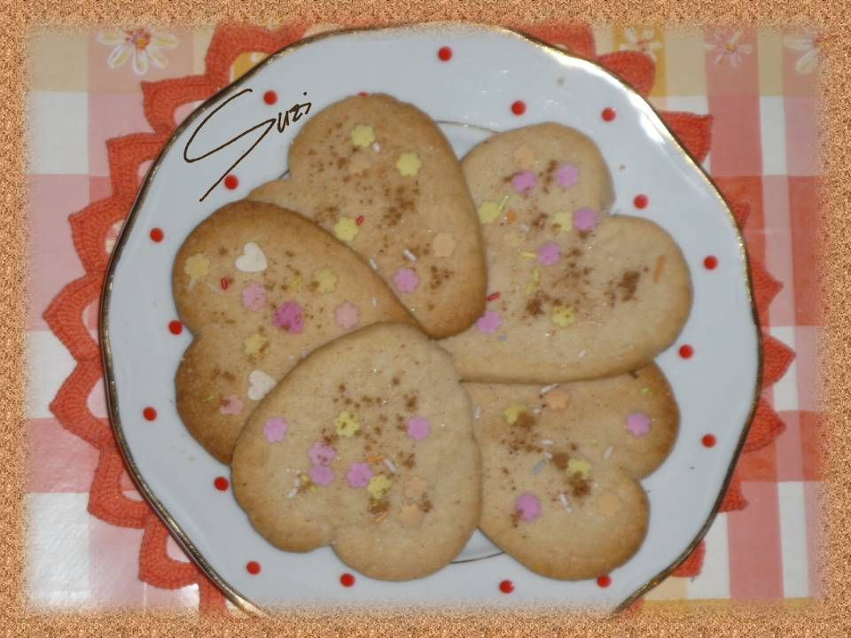 Cinnamon Cookies - var. 2: Hearts (inspirated by Bakegirl)
