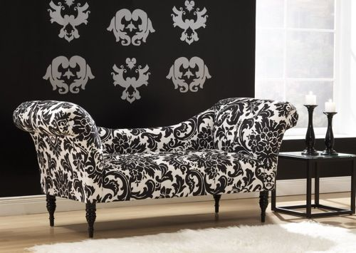 Best Black White Patterned Chaise From Hayneedle Elegant Repose 10 Beautiful Chaise Lounge Designs 400 x 300