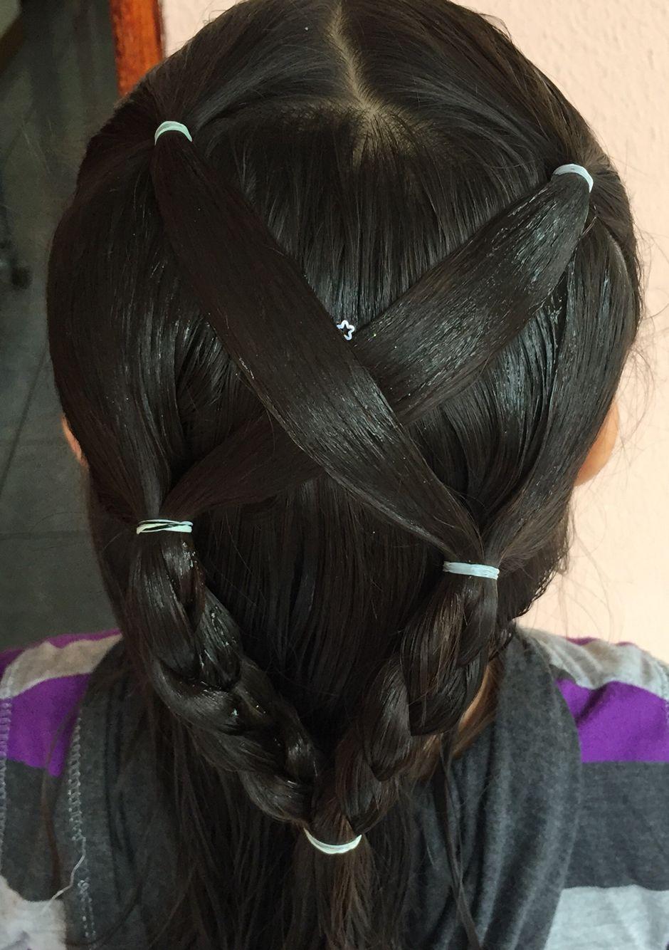 Peinado de niña.