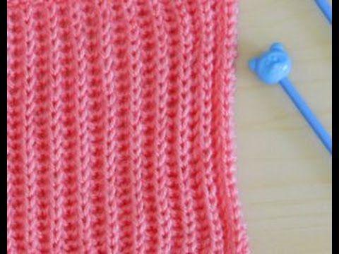 نقشة بريوش Brioch 007 نقشات التريكو Knitting Videos Knitting Knitted Scarf