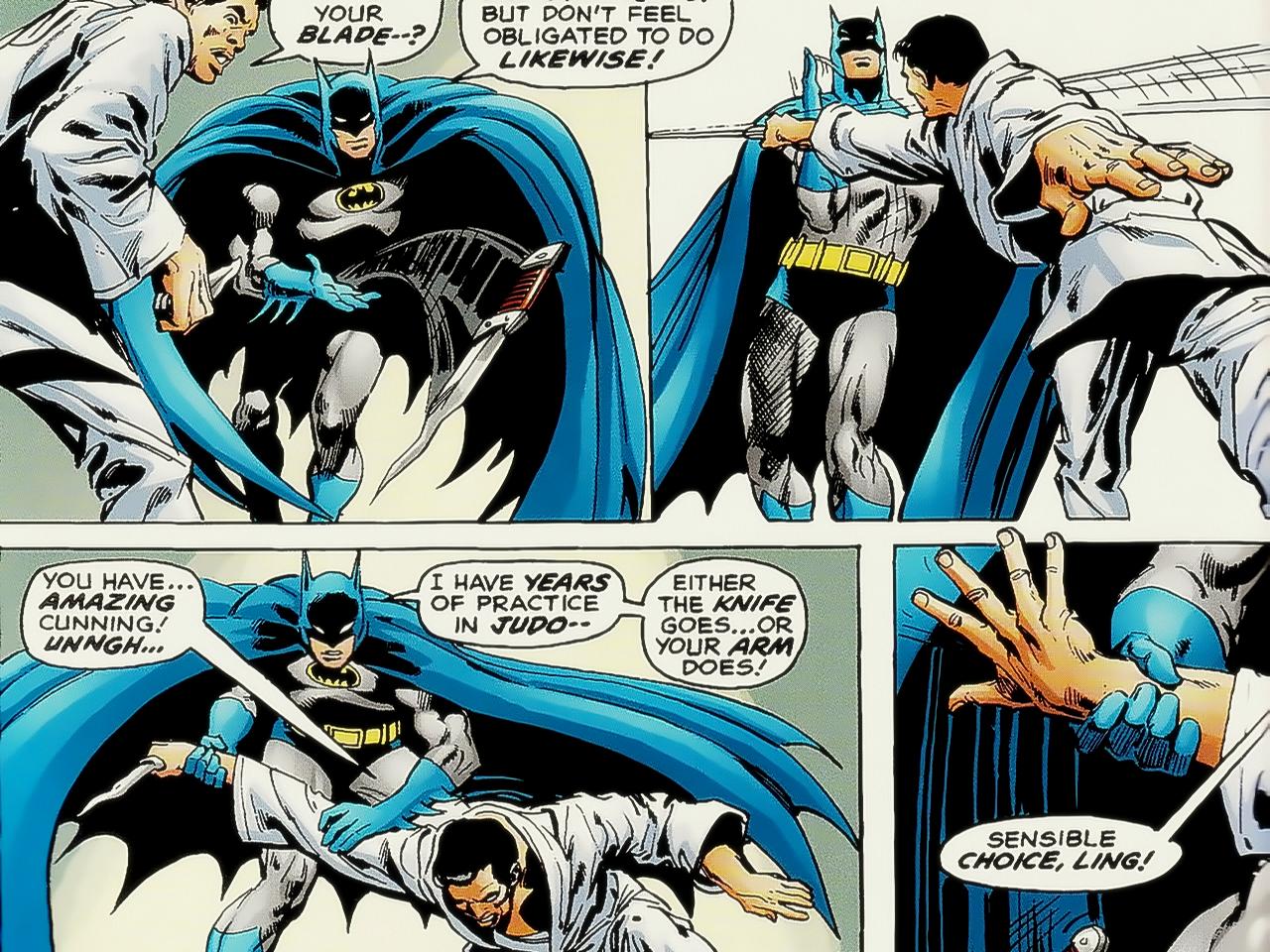 comic batman Not The Joker.