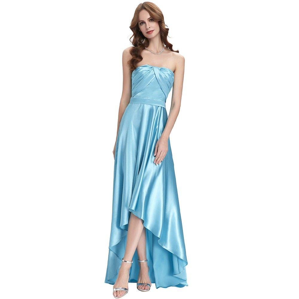 Wunderbar Blaues Kleid Für Prom Zeitgenössisch - Brautkleider Ideen ...
