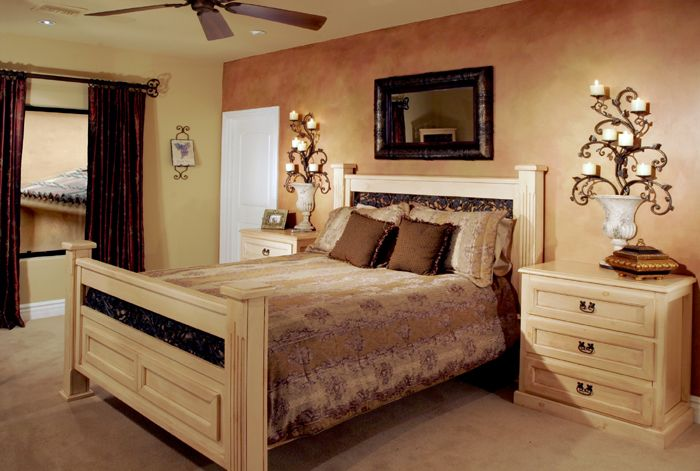 colorful accent walls color wash accent wall Casita bedroom