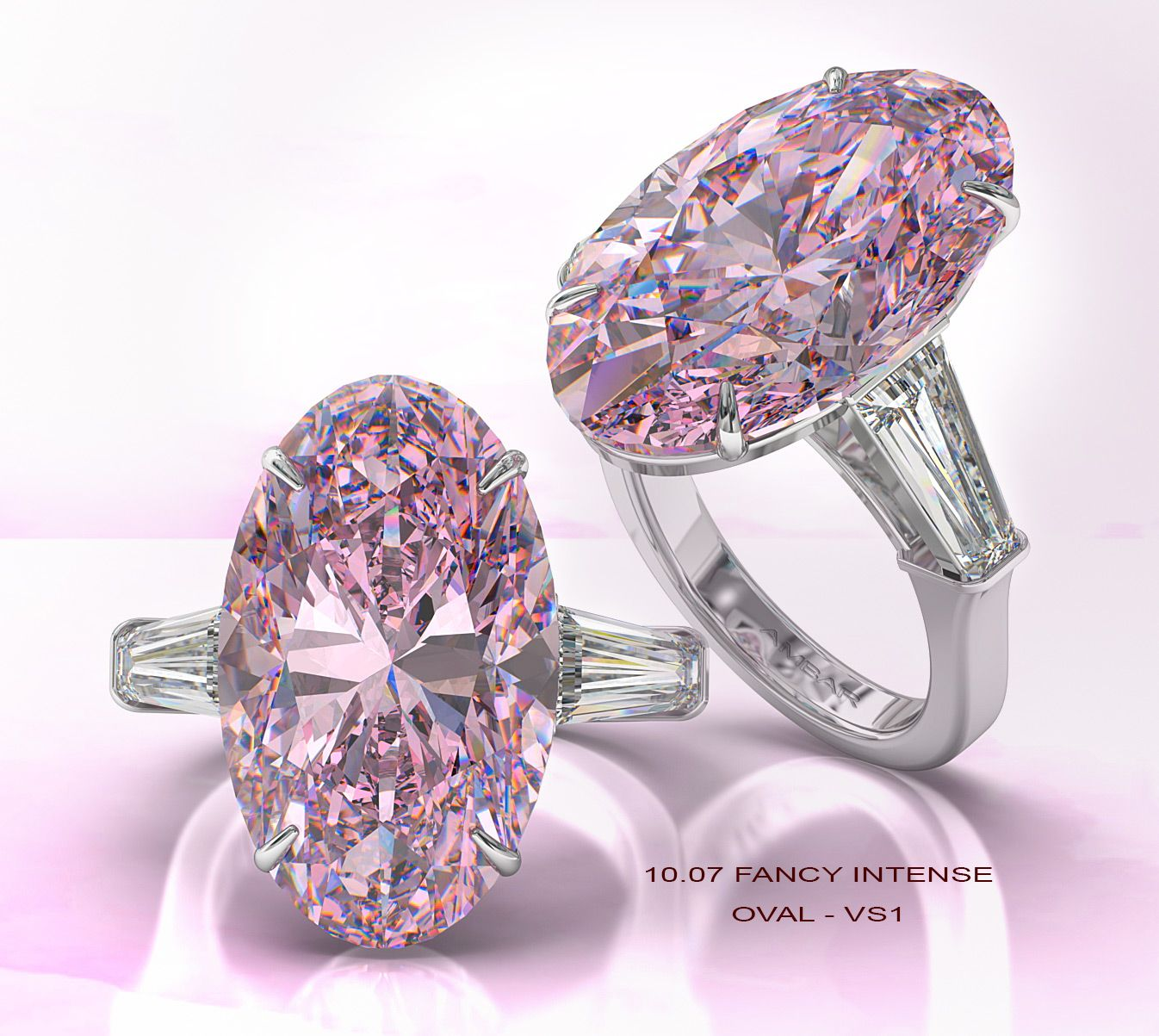 Pink Diamond Engagement Rings From Bez Ambar Pink Diamond Engagement Ring Pink Diamonds Engagement Pink Engagement Ring