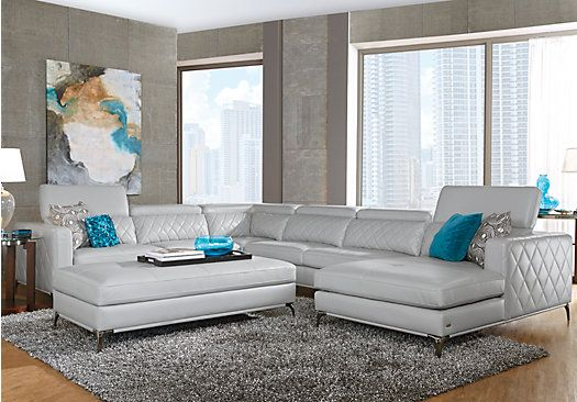 Sofia Vergara Couch In 2020 Sectional Living Room Sets