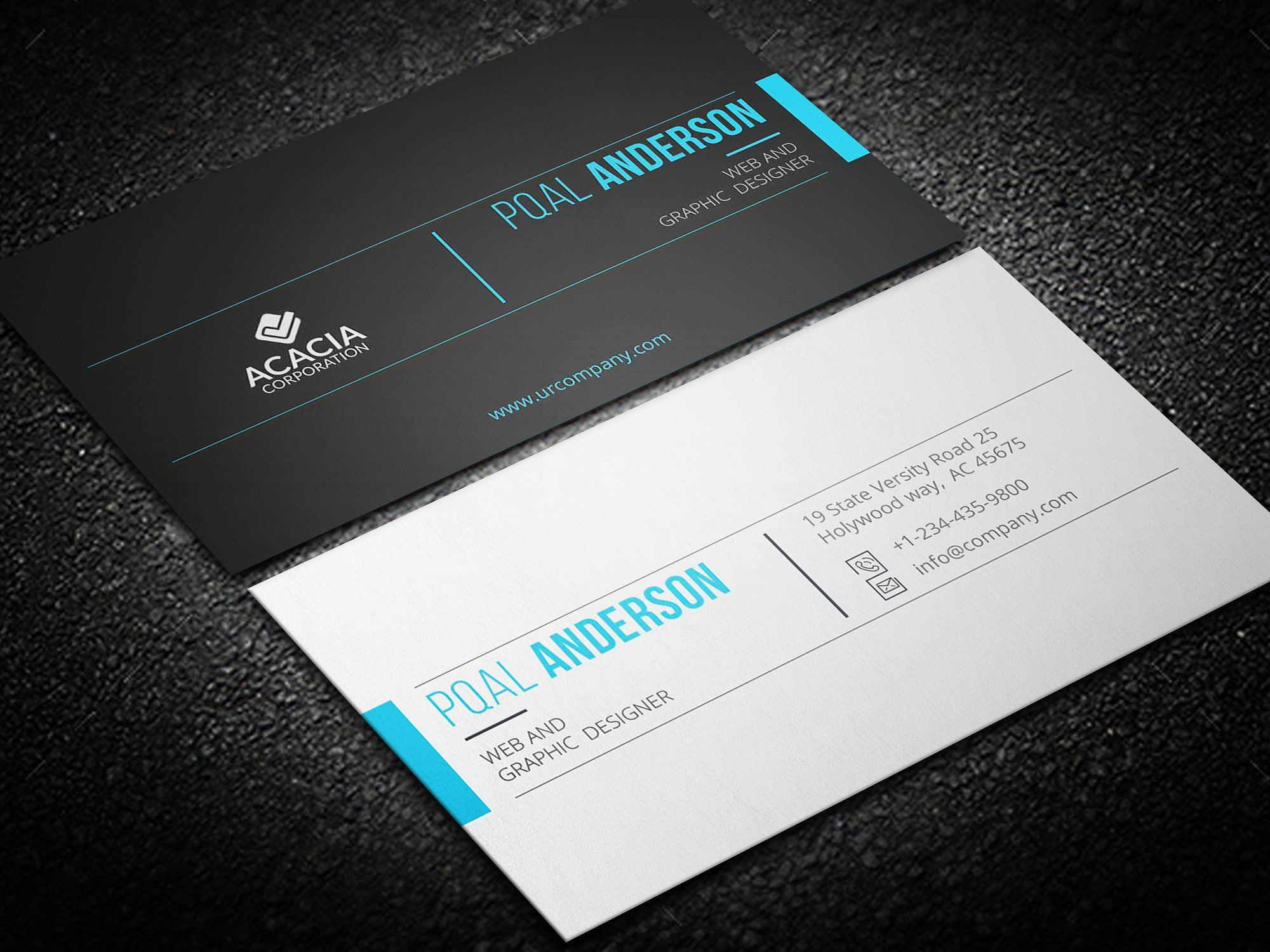 Business Card | Business cards, Business and Fonts